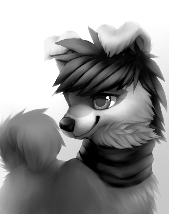 Grayscale_Wolf